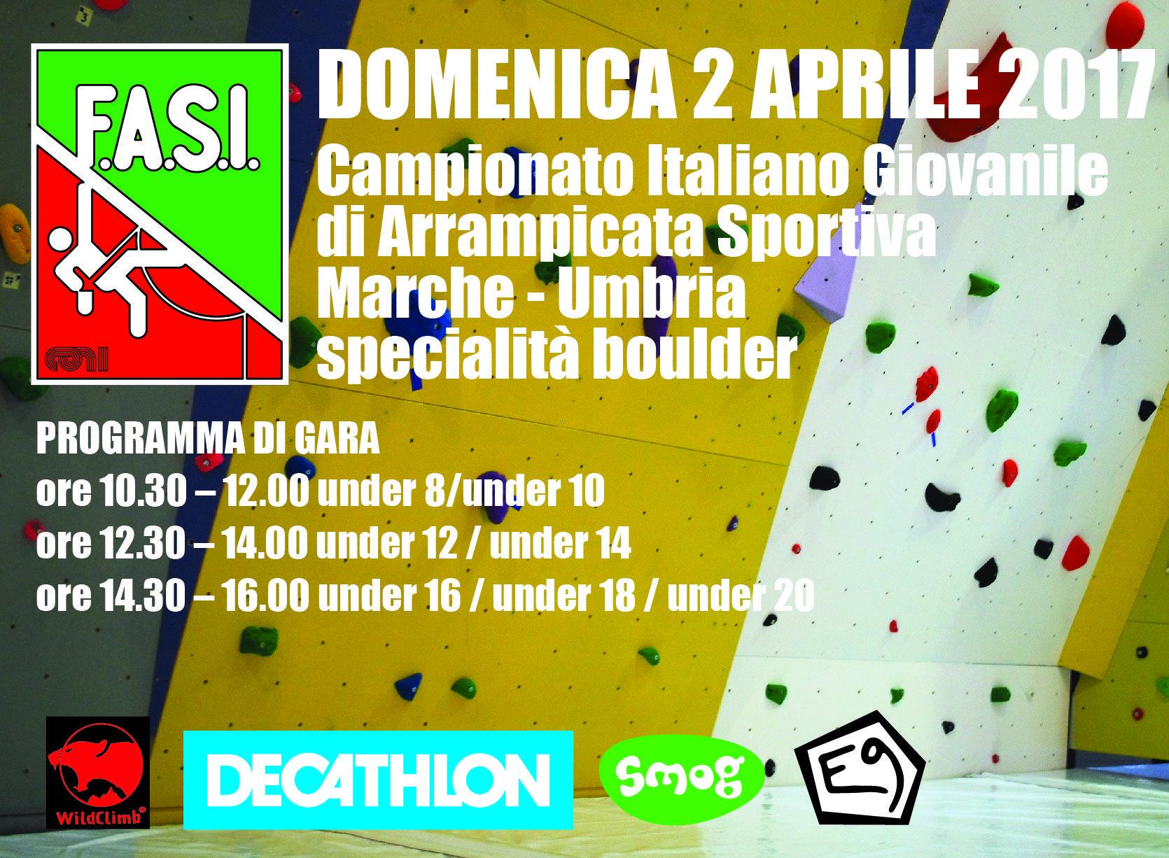 Campionato Italiano Giovanile di Arrampicata Sportiva