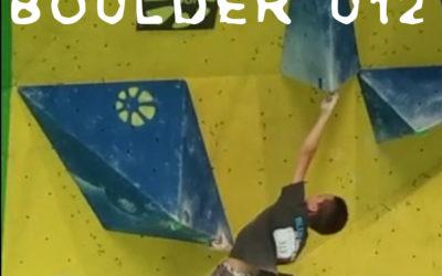 Riccardo Ripani vice Campione Italiano U12 Boulder 2017