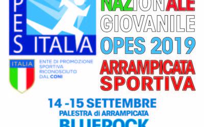 Trofeo Nazionale Giovanile OPES 2019